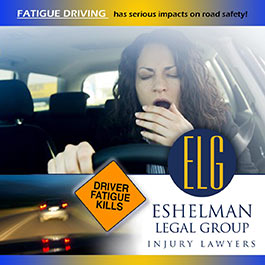 eshelman legal group fatigued driving photo